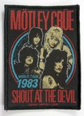 Motley Crue - 'World Tour 83  Shout at the Devil' Woven Patch